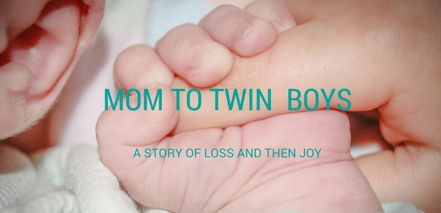 Mom to twin boys