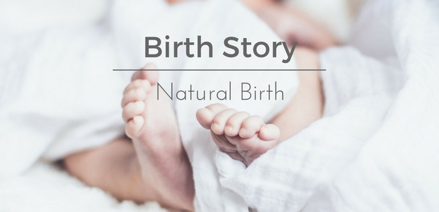 Birth story natural birth