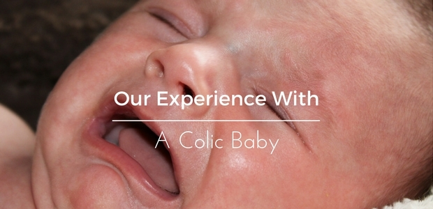 A colic baby
