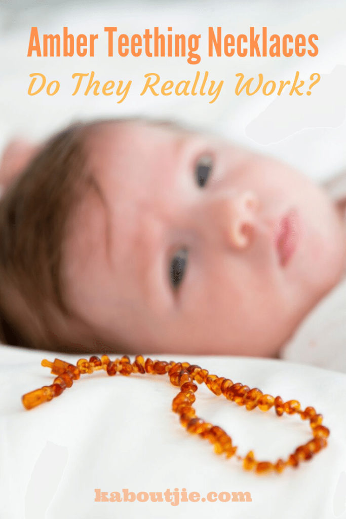 Do Amber Teething Necklaces Work