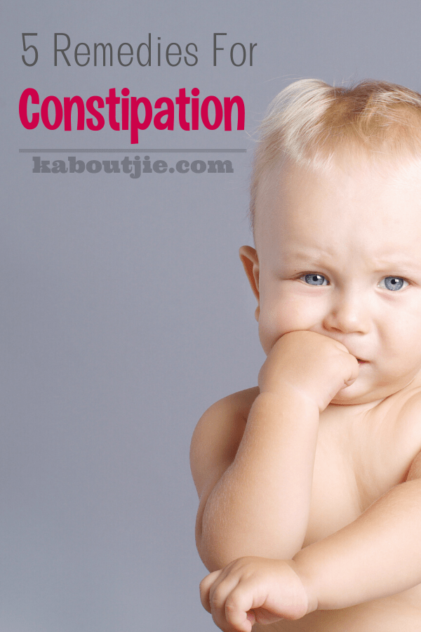 5 Remedies for Constipation