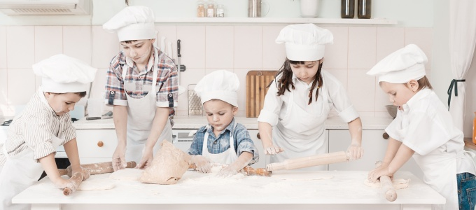 Kids coooking classes langebaan