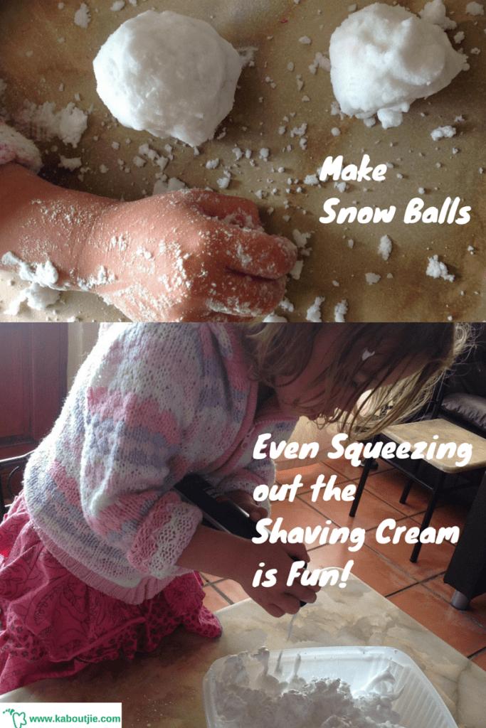 make-snow-balls