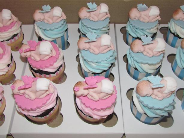 Baby Shower Cakes: Cupcakes