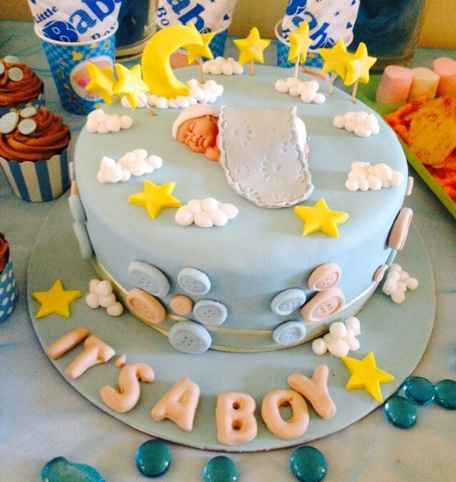 Baby Shower Cakes: It's A Boy