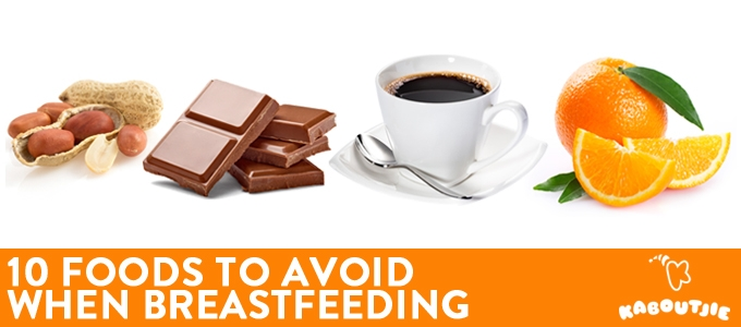 Foods to Avoid When Breastfeeding