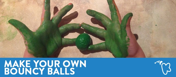 Make Your Own Bouncy Balls
