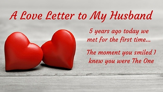 Love Letter My Husband  Kaboutjie