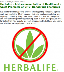 Is Herbalife safe