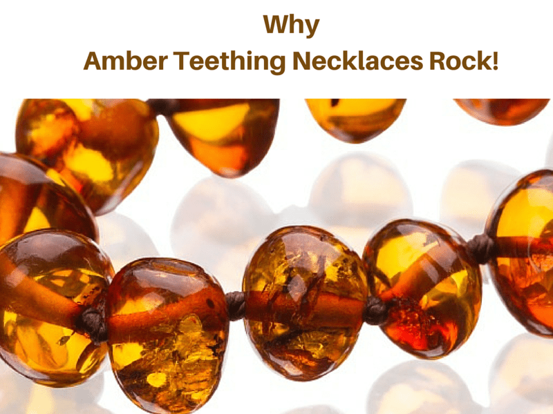Benefits of amber teething necklaces