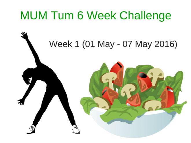 Mum Tum Challenge Week 1