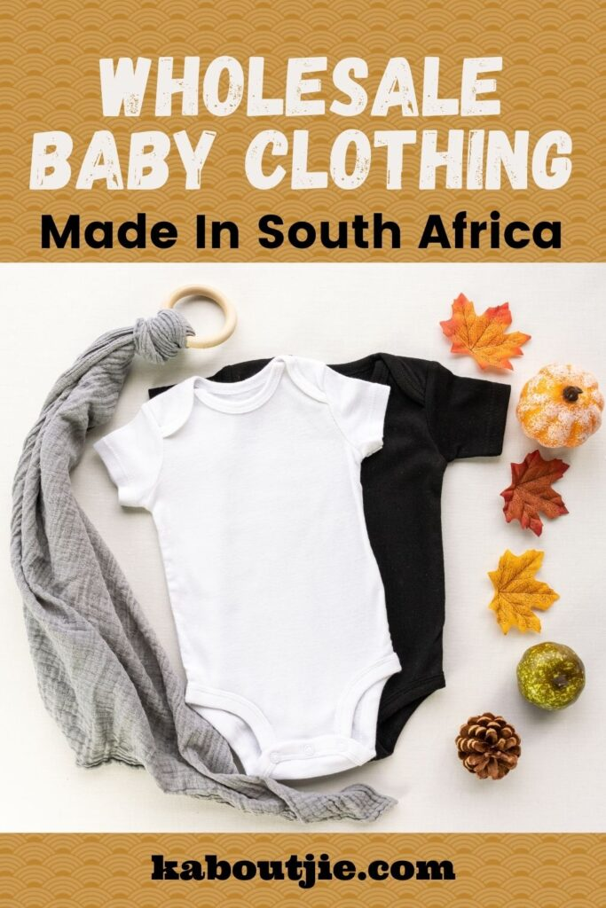 Wholesale Baby Clothes Made In South Africa