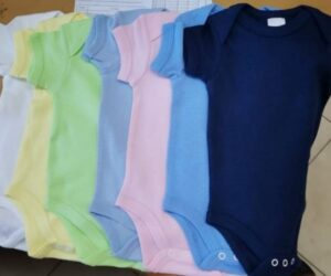 Wholesale Blank Baby Vests from Levi and Khloe