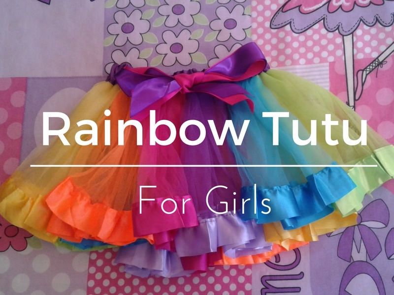 Rainbow Tutu for girls
