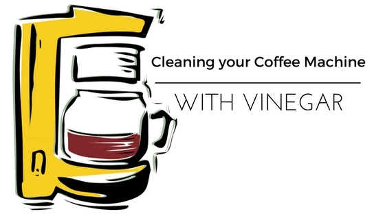 Cleaning coffee makers with vinegar
