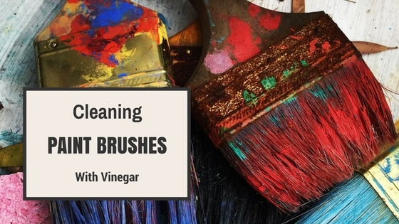 Cleaning Paint Brushes with Vinegar