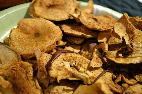 Fruit Chips - fun fruit recipes