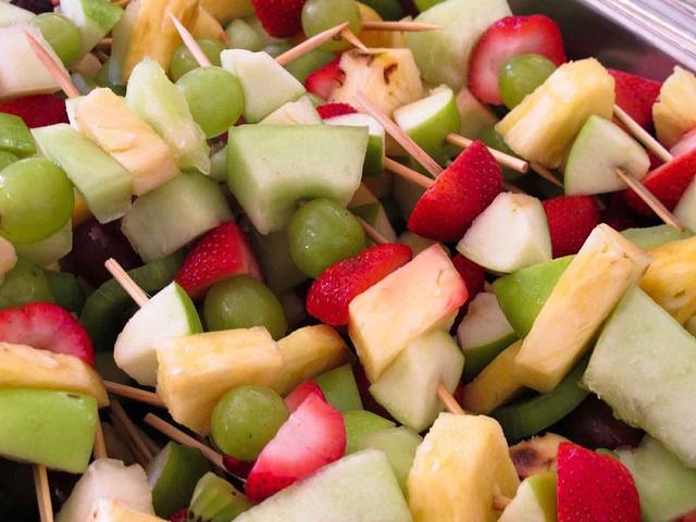 Fruit Skewers - fun fruit recipes
