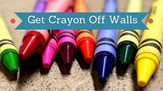 Get Crayon Off Walls Using Vinegar