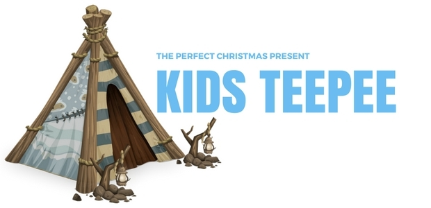 The perfect childrens Christmas present kids teepee
