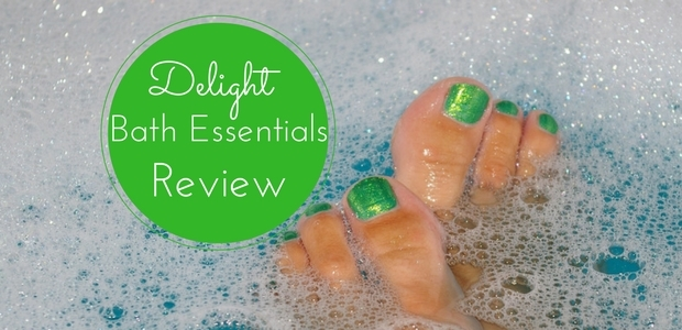 Delight Bath Essentials Review handmade natural bath products