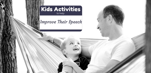 Fun kids activities to help improve their speech