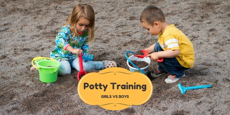 Potty training girls vs boys