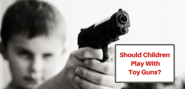Should kids play with toy guns