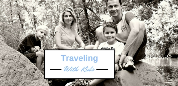 Traveling with young children