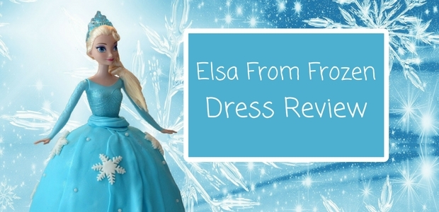 Elsa Dress from Frozen review