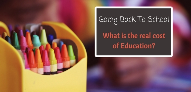 Going back to school - the real cost of education