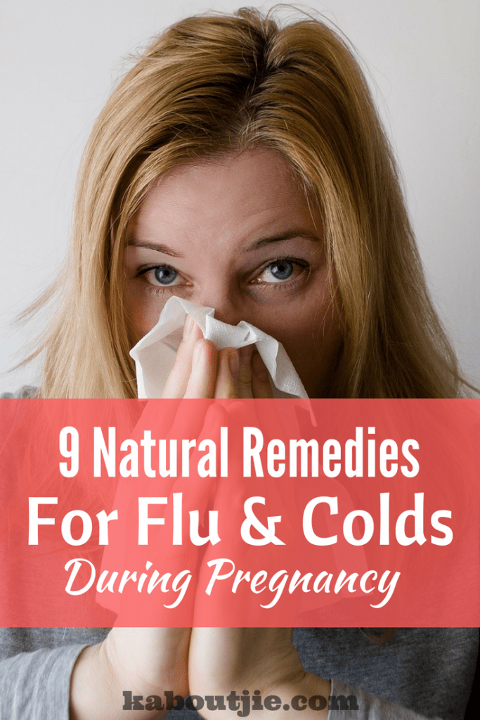 home remedies flu colds when pregnant