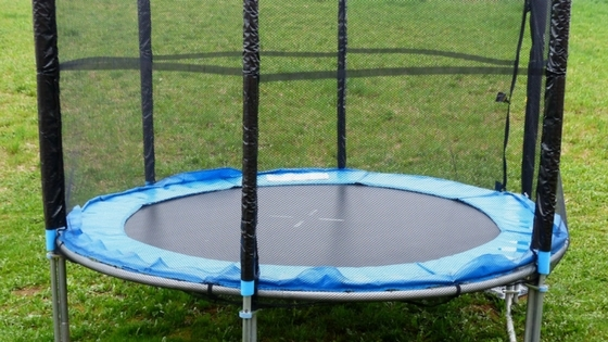 Trampolines are safe