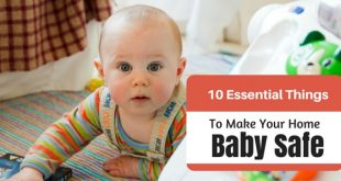 Baby proof your house wisely
