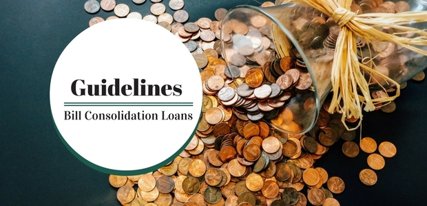 Guidelines when to apply for a bill consolidation loan