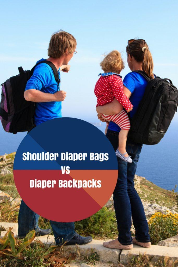 Shoulder Diaper Bags Vs Diaper Backpacks - Which One Is Best?