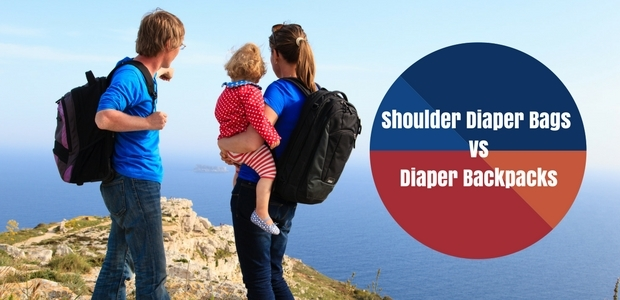 Shoulder Diaper Bags vs Diaper Backpacks