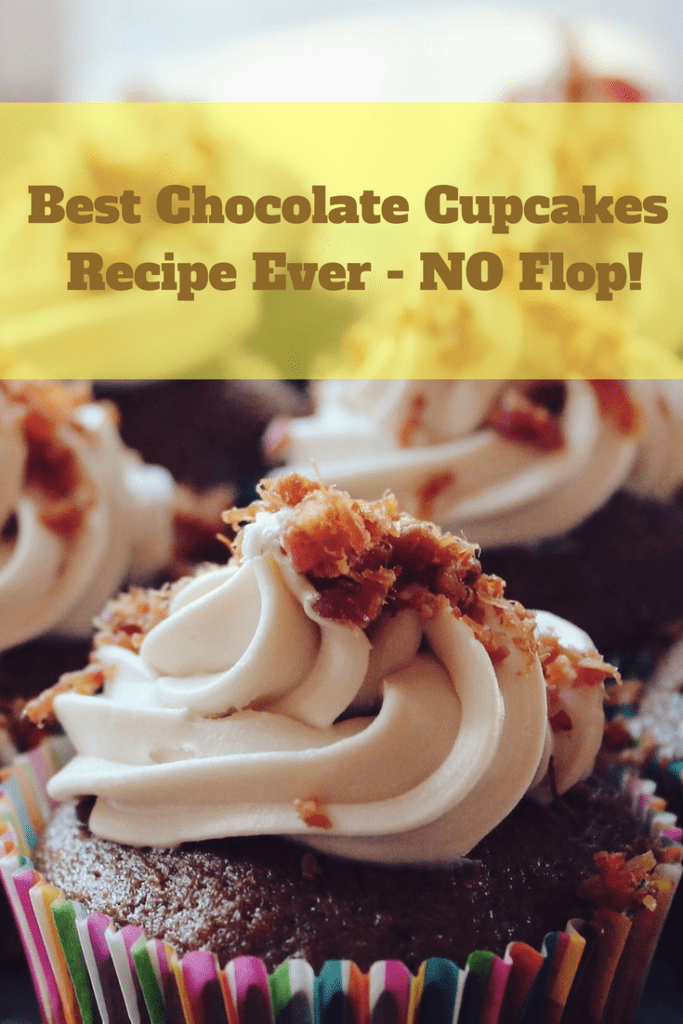 Best Chocolate Cupcakes Recipe from Scratch - NO Flop!