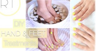 DIY hand and foot treatments