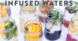 Fruit Infused Water - 8 ways to drink more water