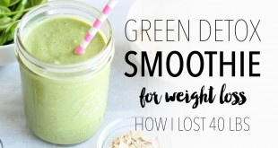 Green Detox Smoothie Recipe for Weight Loss