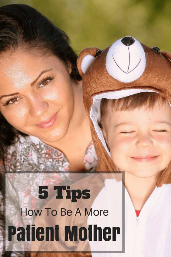 How to be a more patient mother pin
