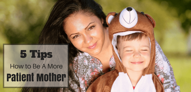 How to be a more patient mother