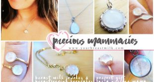 Precious Mammaries Breast Milk Jewelry