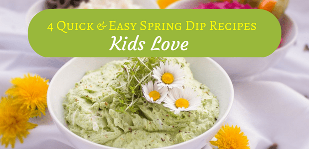 Quick and easy spring dip recipes kids love