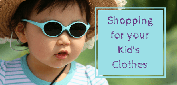 Shopping for your kid's clothes