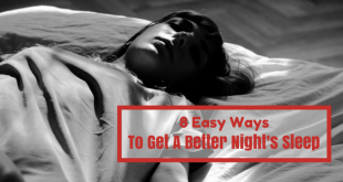 easy ways to get a better nights sleep