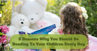 Why you should be reading to your children every day