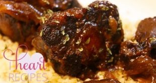 Barbecque Oxtails made in the slow cooker