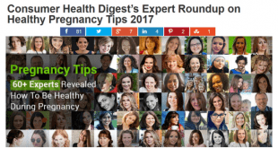 Consumer Health Digest Healthy Pregnancy Tips